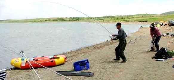 请教关於钓线遇到大鱼断线切线跑鱼的问题